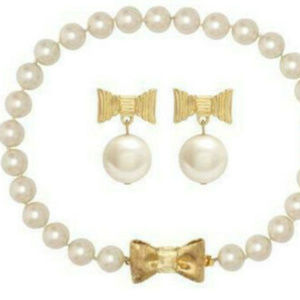 SET Kate Spade 'All Wrapped Up In Pearls' 2 Piece